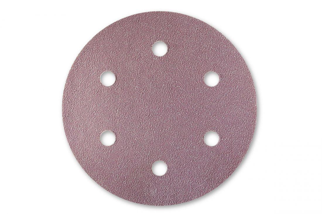Sia 1950 Siaspeed абразив в кругах, 77мм., 6 отверстий, P80, (пачка 100 шт.)