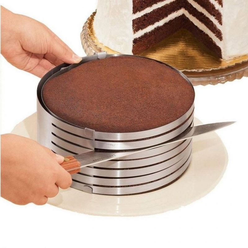 Форма-Слайсер Для Нарезки Коржей Cake Slicing Tool, 9-12 См
