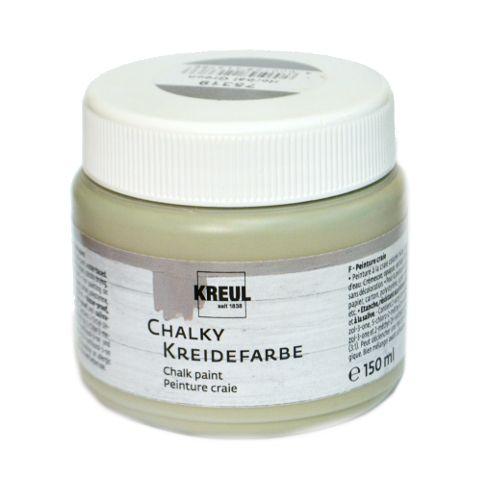 Краска меловая Chalky Kreidefarbe, Herbal Green, (Травяной зеленый), 150 мл