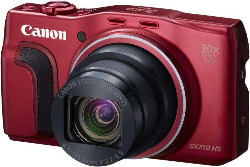 Canon PowerShot SX710 HS Красный