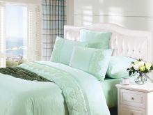Комплект постельного белья Cleo  Luxury modal  LACE евро  Арт.31/006-МL