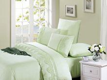 Комплект постельного белья Cleo  Luxury modal  LACE евро  Арт.31/007-МL