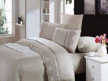 Комплект постельного белья Cleo  Luxury modal  LACE евро  Арт.31/011-МL