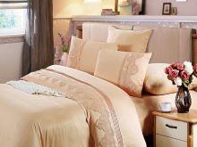 Комплект постельного белья Cleo  Luxury modal  LACE евро  Арт.31/012-МL