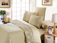 Комплект постельного белья Cleo  Luxury modal  LACE семейный  Арт.41/002-МL