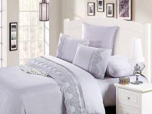 Комплект постельного белья Cleo  Luxury modal  LACE семейный  Арт.41/010-МL