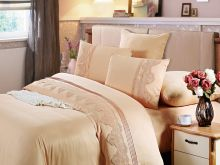 Комплект постельного белья Cleo  Luxury modal  LACE семейный  Арт.41/012-МL