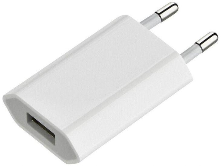 Сетевой USB-адаптер белый