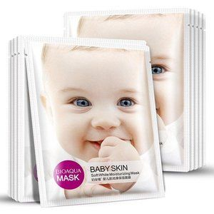 Отбеливающая маска для лица BABY SKIN - набор из 5 шт. (30г.), BIOAQUA