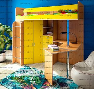 Кровать-чердак Фанки Соло-2