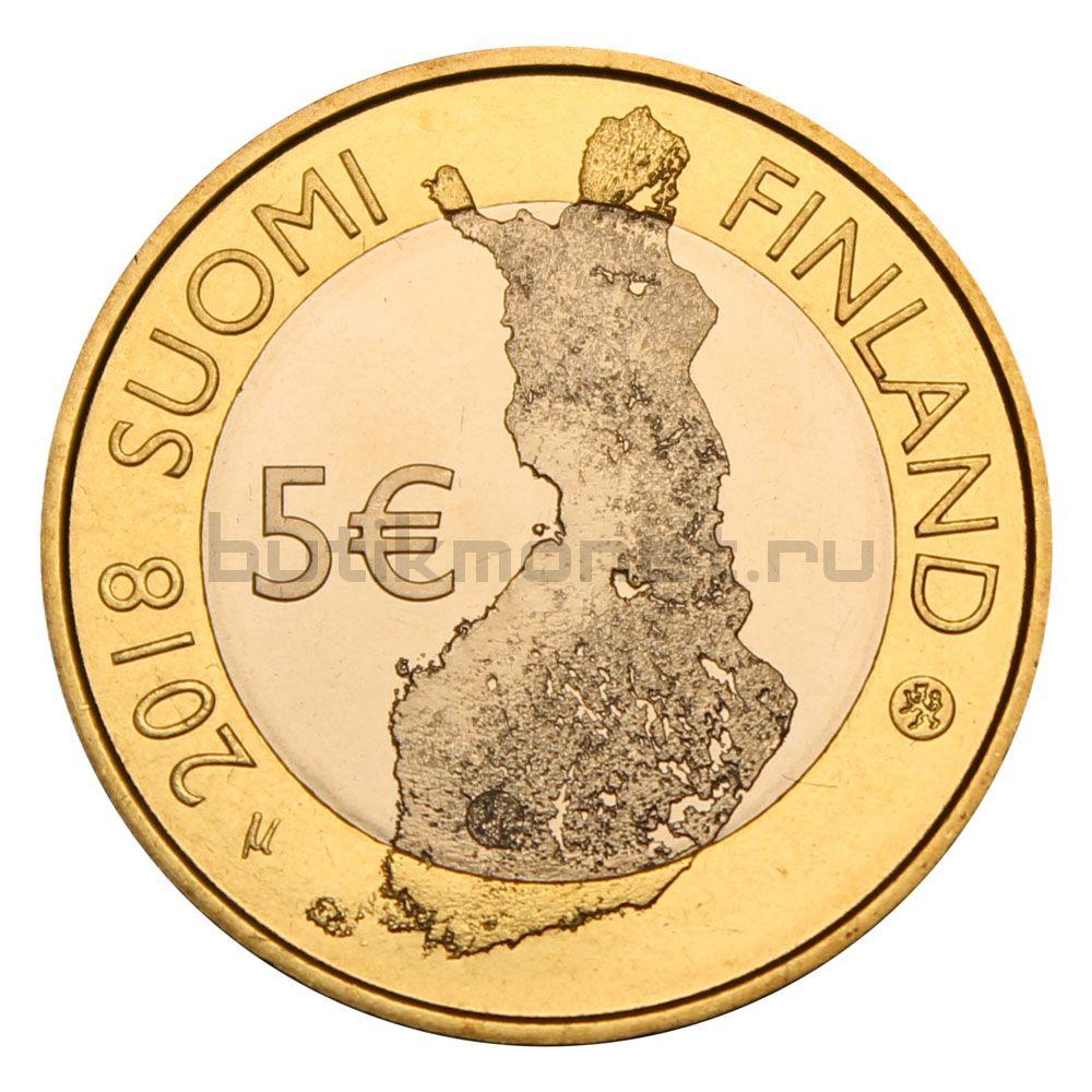 5 евро 2018 Финляндия Ландшафты Таммеркоски (Финский пейзаж)