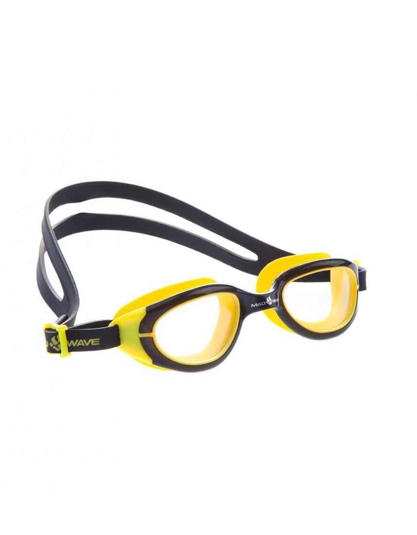 Очки для плавания тренировочные Mad Wave UV BLOKER Junior