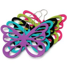 Вешалка с велюровым покрытием Бабочка