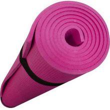 Коврик для йоги Yoga, 137Х60 см, Розовый