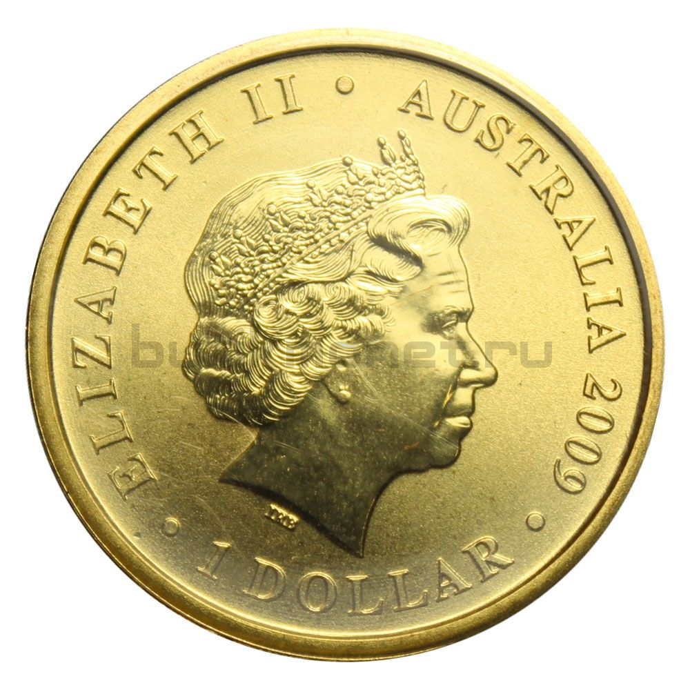 1 доллар 2009 Австралия 200 лет почте