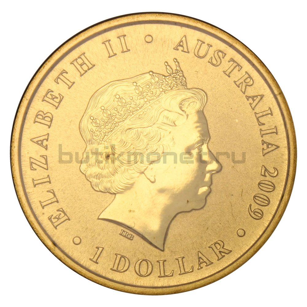 1 доллар 2009 Австралия Международный год астрономии