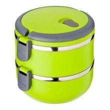 Термо ланч-бокс из нержавеющей стали, 1,4 л, Зелёный
