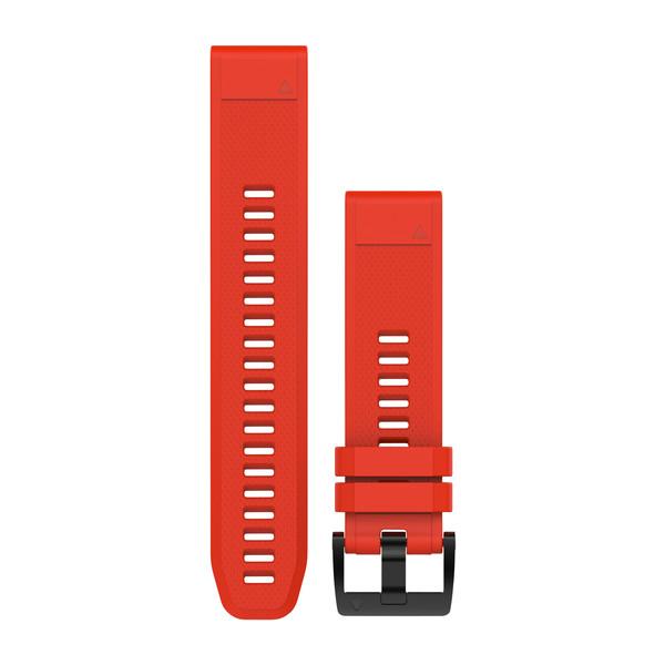 Ремешок сменный QuickFit 22мм Силиконовый красный