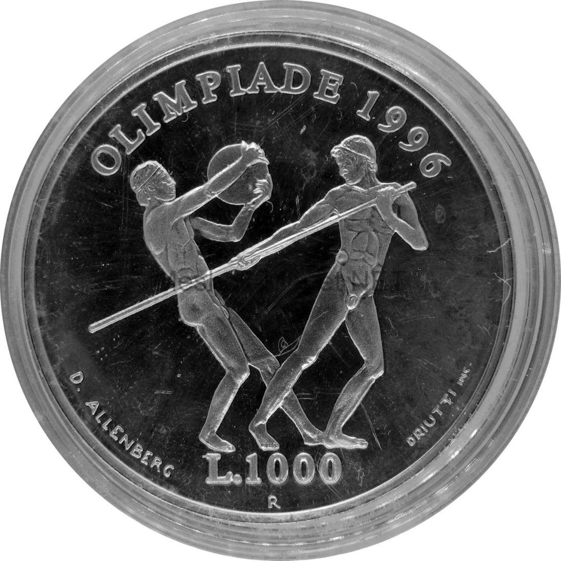 Сан-Марино 1000 лир 1995 г.