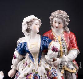 Романтическая пара, Volkstedt, Германия, кон.19 - нач.20 вв.