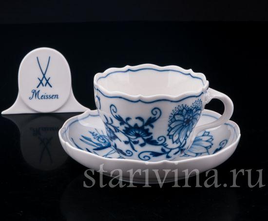 Изображение Чайная пара, Цвибельмусер, Meissen, Германия