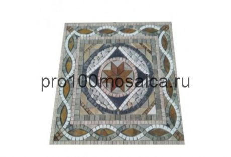FK-906 сланец. Панно. Брусчатка серия PAVING,  размер, мм: 660*660*10 (NS Mosaic)