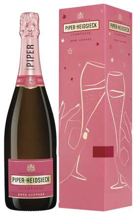 "Champagne Piper-Heidsieck Rose Sauvage (gift box ""Special Edition"")"