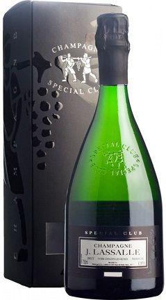 Champagne Lassalle Special Club Premier Cru gift box