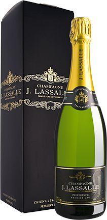 Champagne Lassalle Pr?f?rence Premier Cru Brut Gift Box