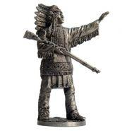Индейский вождь (олово)