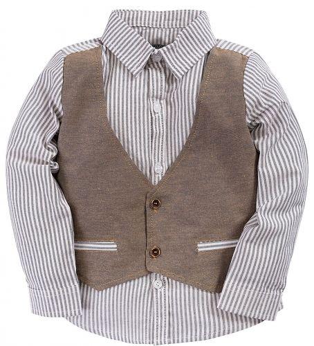 Рубашка для мальчика 3-7 лет Bonito BK246C