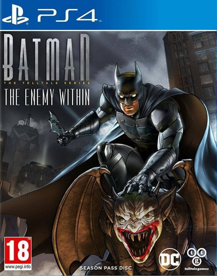 Игра Batman: The Telltale Series The Enemy Within (PS4)