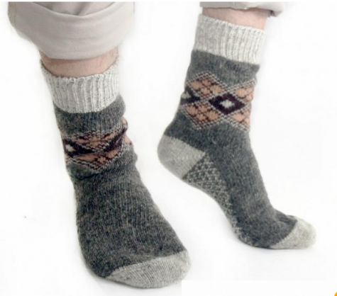 Тёплые мужские носки 44-46
