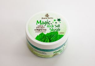 "Magic Rock Salt Skrab  Скраб для тела ""Мята"" 250 г"