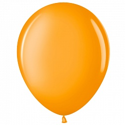 """Шар (12""""/ 30 см), оранжевый, пастель, 100 шт"""