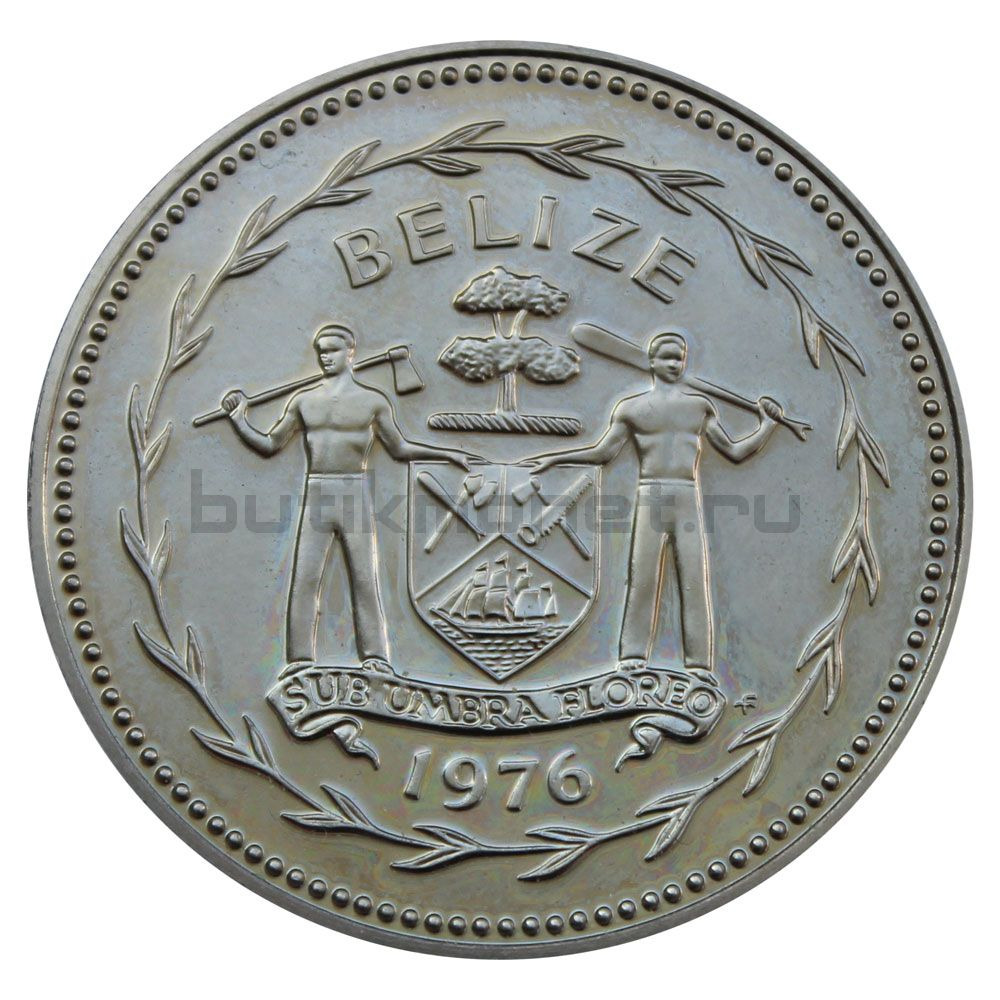 5 долларов 1976 Белиз