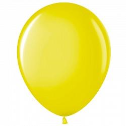 """Шар (12""""/ 30 см), жёлтый, пастель, 100 шт"""
