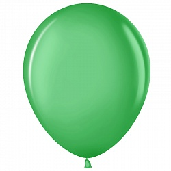 """Шар (10""""/ 25 см), зелёный, пастель, 100 шт"""