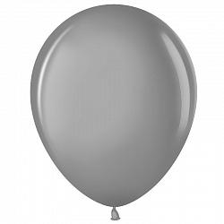 """Шар (10""""/ 25 см), серебро, металлик, 100 шт"""