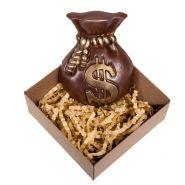 Мешочек с долларом - ШОКОЛАД РУЧНОЙ РАБОТЫ