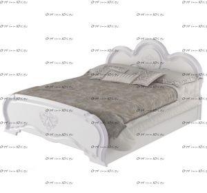Кровать Филадельфия МДФ