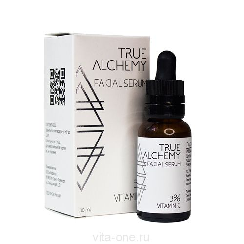 Сыворотка для лица Vitamin C 3% True Alchemy Levrana (Леврана) 30 мл