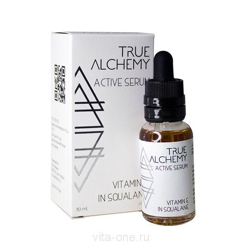 Сыворотка для лица Vitamin E in Squalane True Alchemy Levrana (Леврана) 30 мл