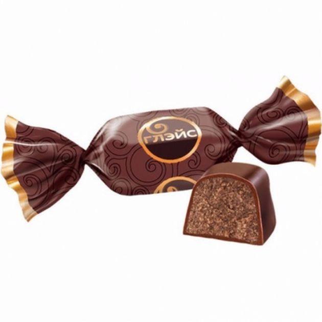 Конфеты Глейс с шоколад.вкусом 1кг Н.Тагил