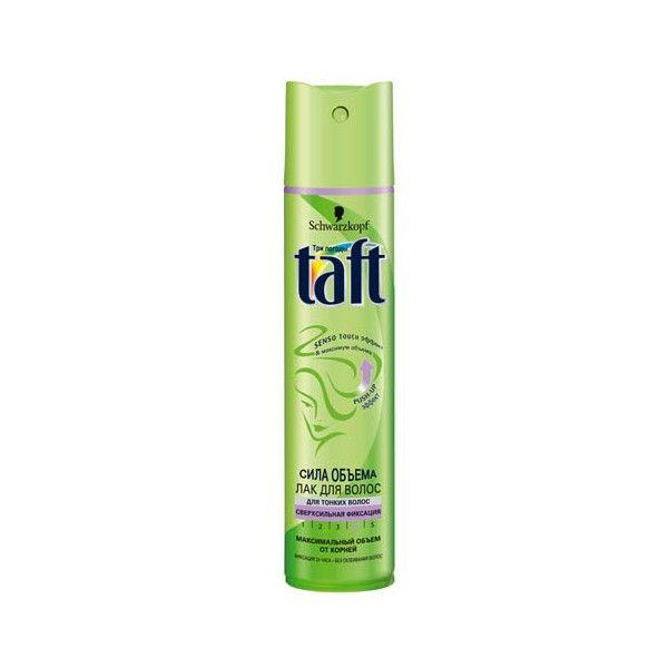Лак д/волос Taft 225мл Сила обьема оч.сил.фикс.