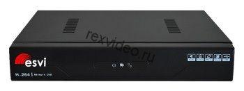 IP видеорегистратор 16 потоков 1080P, H.265, 1HDD EVD-8116W-7