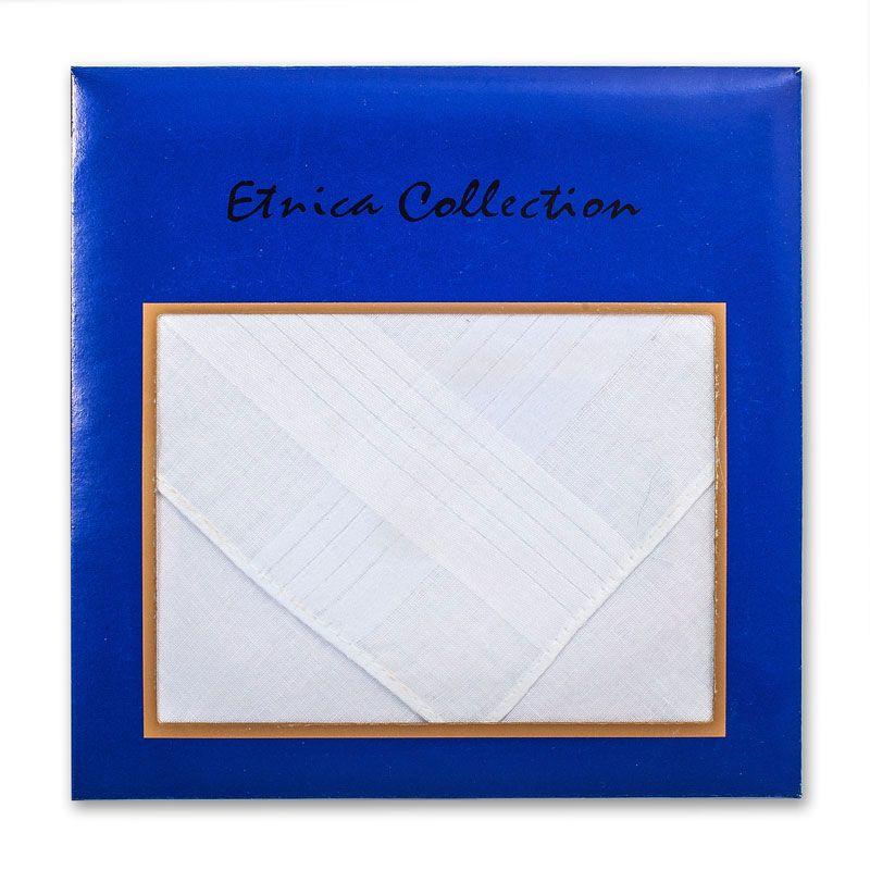 Мужской белый носовой платок Пв33 100% х/б
