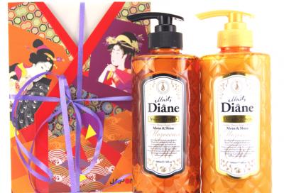 Moist Diane Moist Набор подарочный Шампунь бессиликоновый 500 мл и Бальзам-кондиционер 500 мл Увлажнение и Блеск