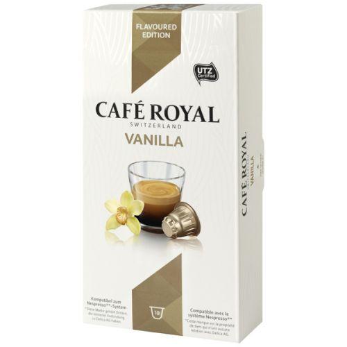 Кофе в капсулах Cafe Royal Vanilla 10 шт ( совместимые с кофемашинами Nespresso)