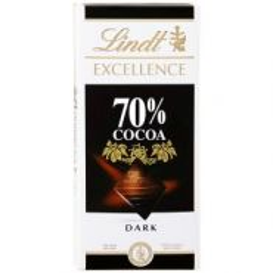 Şokolad Lindt 70% acı 100 gr